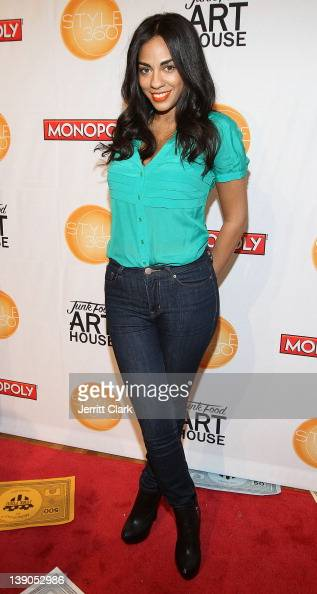 Sharon Carpenter attends the Monopoly by Junk Food Art House 'Money Can't Buy Happiness' Fashion Show during Style360 at the Metropolitan Pavillion...