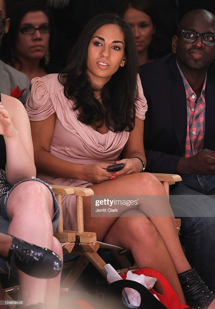 Sharon Carpenter attends the Sachika Spring 2012 fashion show during Style360 on September 13 2011 in New York City