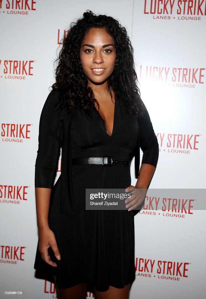 Sharon Carpenter attends the YRB Magazine Art Issue Release Party at Lucky Strike on August 23 2010 in New York City