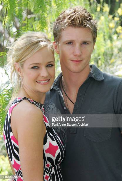 Sharon Case and Thad Luckinbill during 46th Monte Carlo Television Festival 'The Young and The Restless' Photocall at Grimaldi Forum in Monte Carlo...