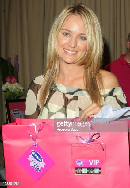 Sharon Case during 33rd Annual Daytime Emmy Awards Gift Suite Day 1 in Los Angeles California United States
