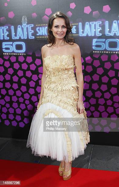 Sharon Corr attends the 50th Anniversary Of 'The Late Late Show' on June 1 2012 in Dublin Ireland