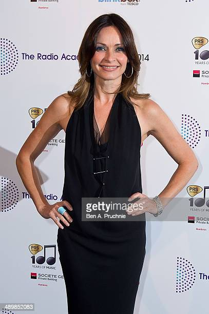 Sharon Corr attends The Radio Academy Awards at The Grosvenor House Hotel on May 12 2014 in London England