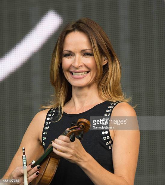 Sharon Corr of The Corrs performs at BBC Radio 2 Live In Hyde Park at Hyde Park on September 13 2015 in London England