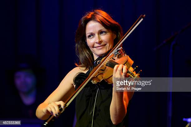 Sharon Corr performs on stage at Freiheiz on November 26 2013 in Munich Germany