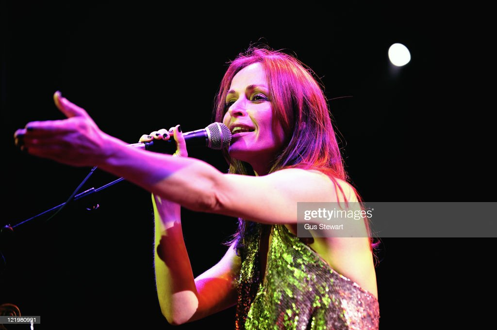 <a gi-track='captionPersonalityLinkClicked' href=/galleries/search?phrase=Sharon+Corr&family=editorial&specificpeople=1063043 ng-click='$event.stopPropagation()'>Sharon Corr</a> performs on stage at O2 Islington Academy on August 24, 2011 in London, United Kingdom.