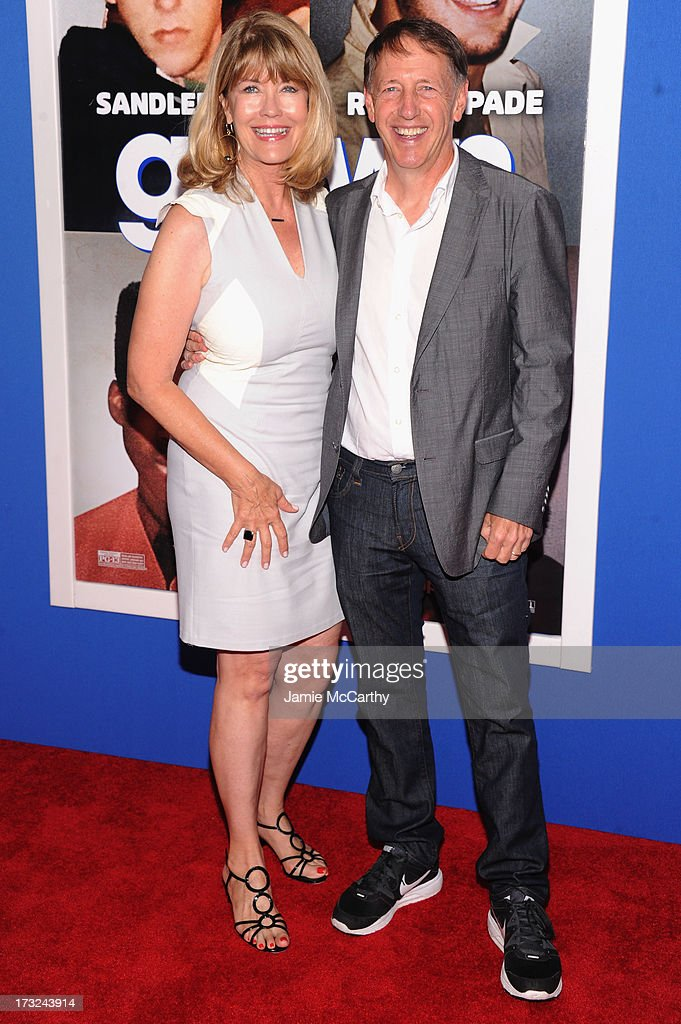 Sharon Dugan (L) and director Dennis Dugan attend the 'Grown Ups 2' New York Premiere at AMC Lincoln Square Theater on July 10, 2013 in New York City.