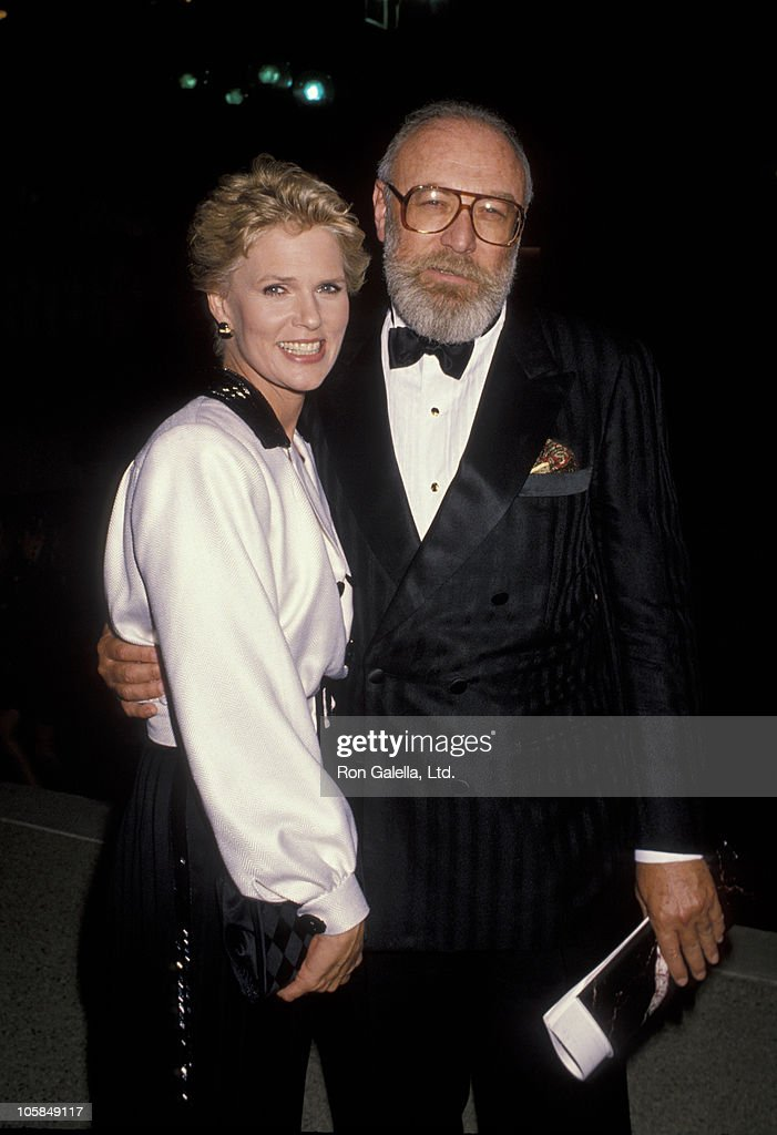 Sharon Gless and Barney Rosenzweig during 42nd Annual Emmy Awards at Pasadena Civic Auditorium in Pasadena, California, United States.