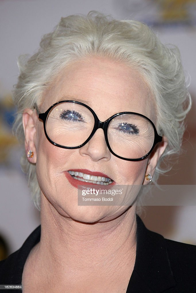 <a gi-track='captionPersonalityLinkClicked' href=/galleries/search?phrase=Sharon+Gless&family=editorial&specificpeople=211287 ng-click='$event.stopPropagation()'>Sharon Gless</a> attends the 23rd annual Night Of 100 Stars black tie dinner viewing gala held at the Beverly Hills Hotel on February 24, 2013 in Beverly Hills, California.