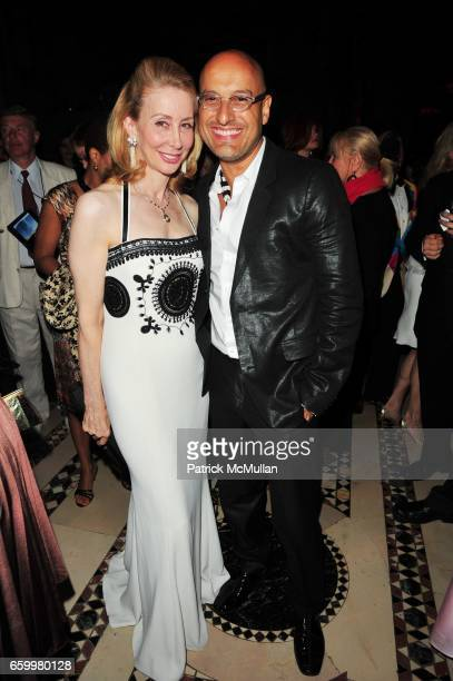 Sharon Handler and Angel Sanchez attend El MUSEO Gala at Cipriani 42nd St on May 20 2009 in New York City