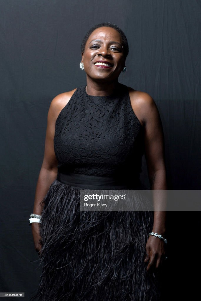 Sharon Jones of Sharon Jones & the Dap-Kings poses for a portrait backstage at day 1 of the AFROPUNK festival at Commodore Barry Park on August 23, 2014 in Brooklyn, New York.