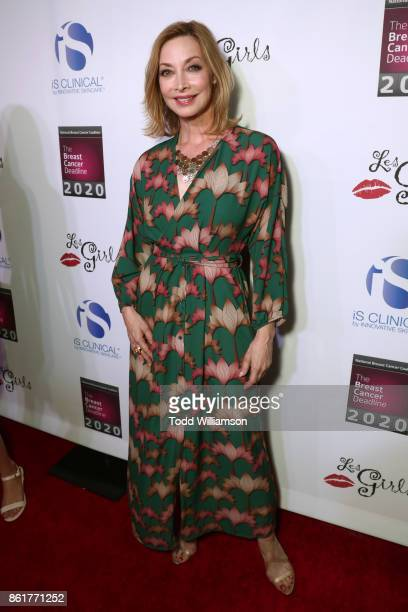 Sharon Lawrence attends National Breast Cancer Coalition Fund's 17th Annual Les Girls Cabaret at Avalon Hollywood on October 15 2017 in Los Angeles...