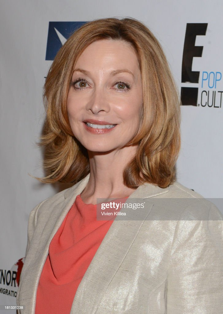 <a gi-track='captionPersonalityLinkClicked' href=/galleries/search?phrase=Sharon+Lawrence&family=editorial&specificpeople=202246 ng-click='$event.stopPropagation()'>Sharon Lawrence</a> attends the 12th Annual Heller Awards at The Beverly Hilton Hotel on September 19, 2013 in Beverly Hills, California.