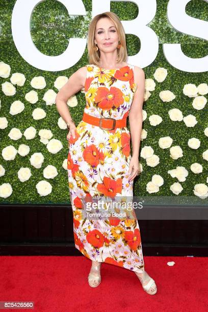 Sharon Lawrence attends the 2017 Summer TCA Tour CBS Television Studios' Summer Soiree at CBS Studios Radford on August 1 2017 in Studio City...