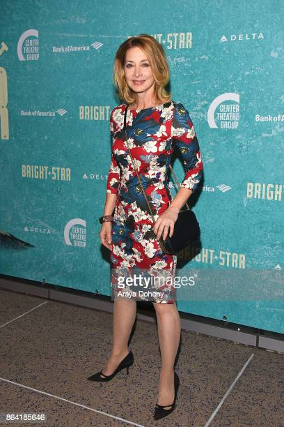 Sharon Lawrence attends the opening night of 'Bright Star' at Ahmanson Theatre on October 20 2017 in Los Angeles California