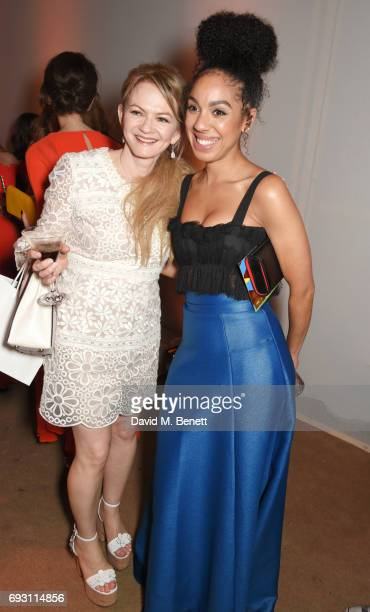 Sharon Maguire and Pearl Mackie attend the Glamour Women of The Year Awards 2017 in Berkeley Square Gardens on June 6 2017 in London England