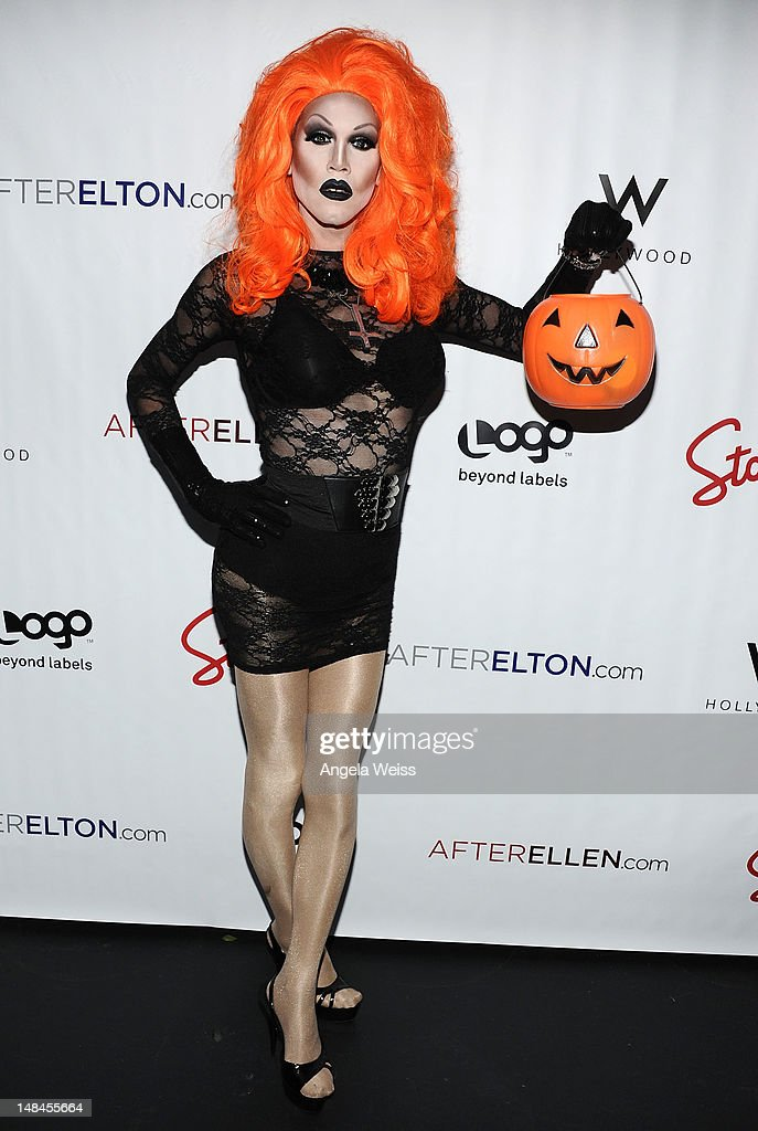 Sharon Needles attends Logo's AfterEllen & AfterElton Inaugural 'Hot 100 Party' at Station Hollywood at W Hollywood Hotel on July 16, 2012 in Hollywood, California.