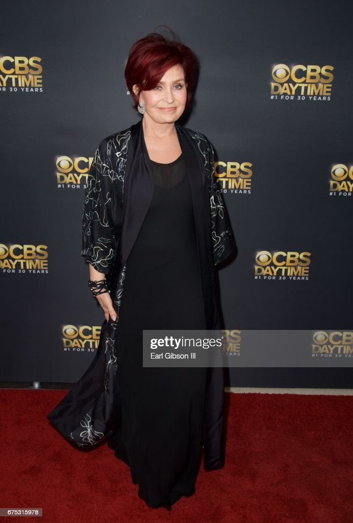 Sharon Osborne attends the CBS Daytime Emmy After Party at Pasadena Civic Auditorium on April 30, 2017 in Pasadena, California.
