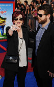 Sharon Osbourne and Jack Osbourne arrive at the 'Gnomeo And Juliet' Los Angeles Premiere at the El Capitan Theatre on January 23 2011 in Hollywood...