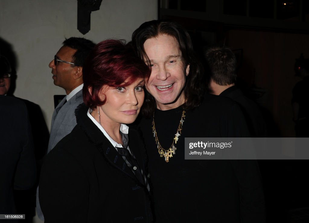 <a gi-track='captionPersonalityLinkClicked' href=/galleries/search?phrase=Sharon+Osbourne&family=editorial&specificpeople=203094 ng-click='$event.stopPropagation()'>Sharon Osbourne</a> and <a gi-track='captionPersonalityLinkClicked' href=/galleries/search?phrase=Ozzy+Osbourne&family=editorial&specificpeople=138608 ng-click='$event.stopPropagation()'>Ozzy Osbourne</a> attend the Universal Music Group Chairman & CEO Lucian Grainge's annual Grammy Awards viewing party on February 10, 2013 in Brentwood, California.