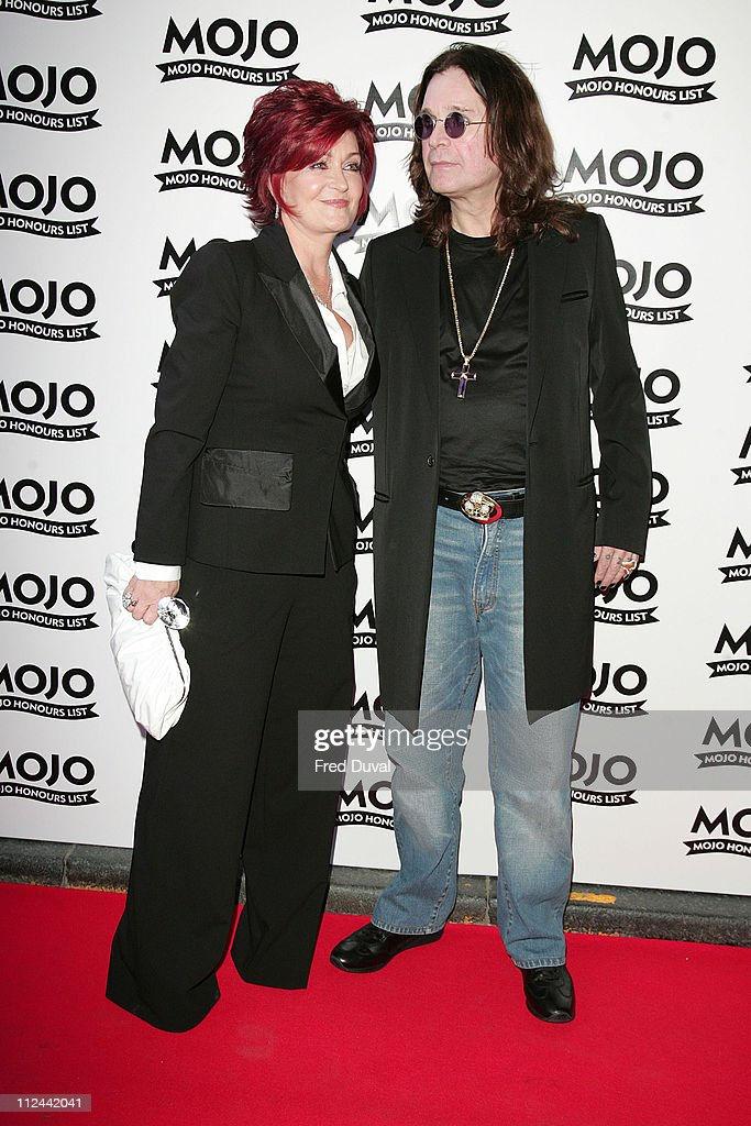 Sharon Osbourne and Ozzy Osbourne during MOJO Honours List 2007 - Arrivals at The Brewery in London, Great Britain.