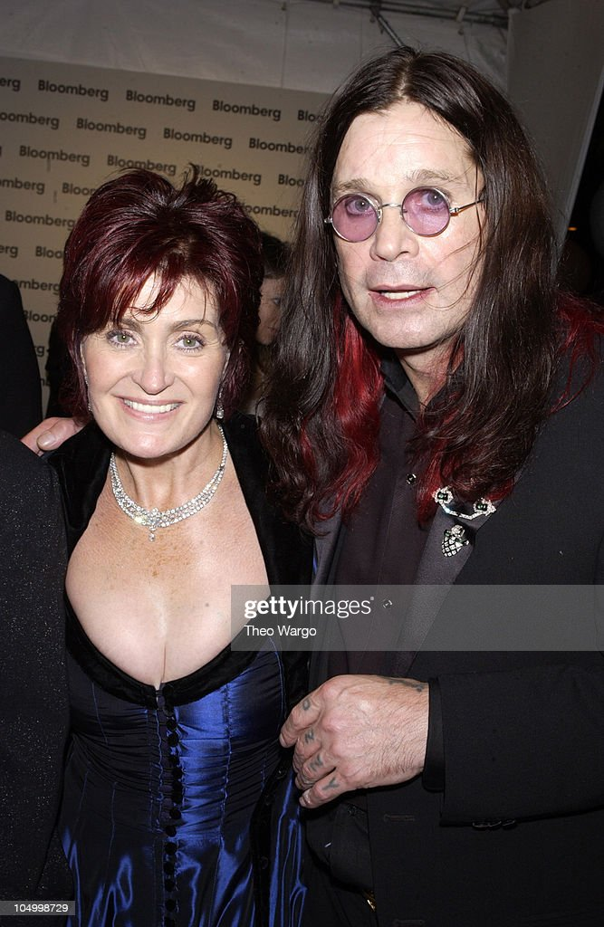 Sharon Osbourne and Ozzy Osbourne during The Bloomberg after-party immediately following The White House Correspondents Dinner at Trade Ministry of the Russian Federation in Washington, DC, United States.