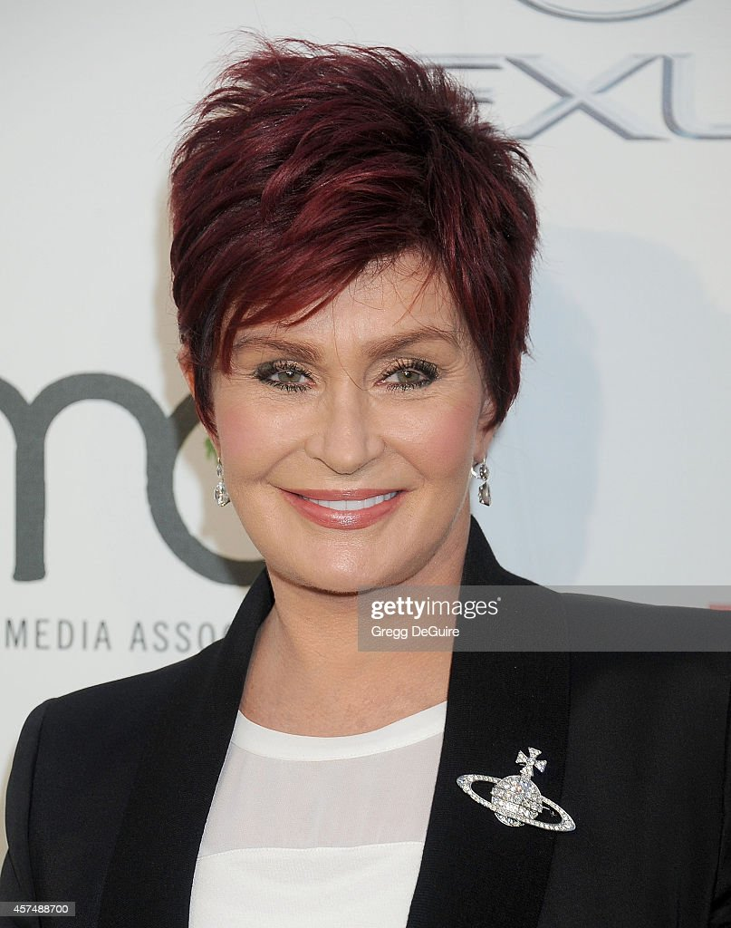 Sharon Osbourne arrives at the 2014 Environmental Media Awards at Warner Bros. Studios on October 18, 2014 in Burbank, California.