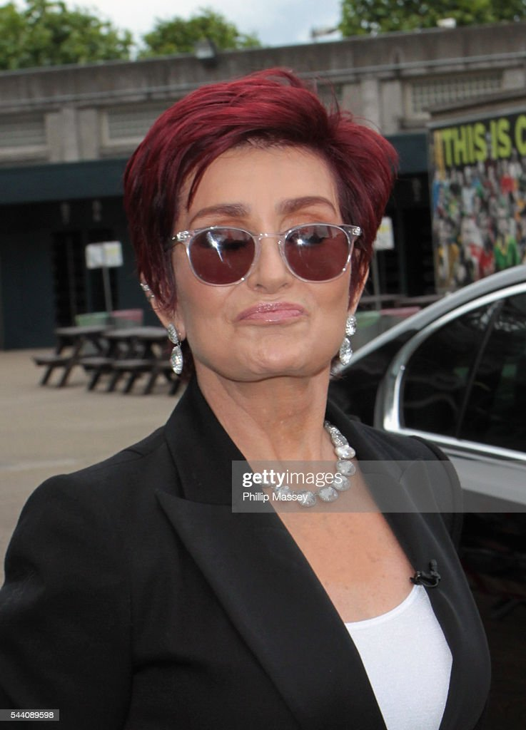 <a gi-track='captionPersonalityLinkClicked' href=/galleries/search?phrase=Sharon+Osbourne&family=editorial&specificpeople=203094 ng-click='$event.stopPropagation()'>Sharon Osbourne</a> arrives at the Dublin X Factor auditions at Croke Park on July 1, 2016 in Dublin, Ireland.