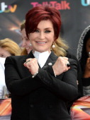 Sharon Osbourne arrives for the London auditions of 'The X Factor' at ExCel on June 19 2013 in London England