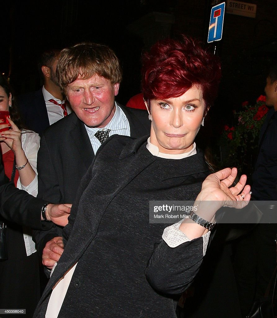 <a gi-track='captionPersonalityLinkClicked' href=/galleries/search?phrase=Sharon+Osbourne&family=editorial&specificpeople=203094 ng-click='$event.stopPropagation()'>Sharon Osbourne</a> at the Soho Townhouse on June 9, 2014 in London, England.