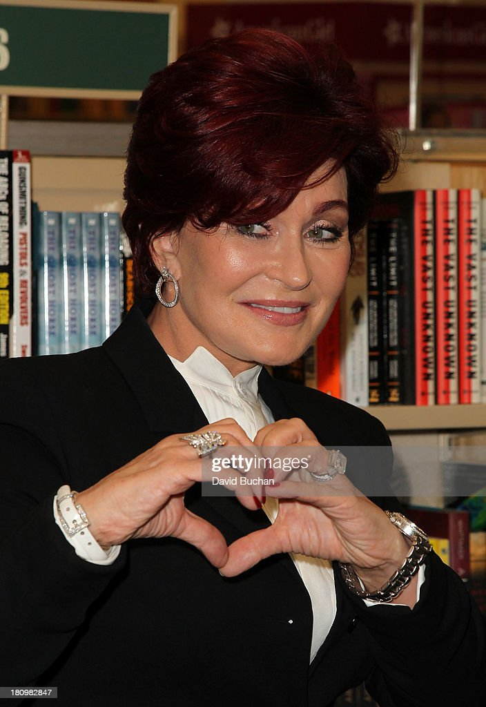 <a gi-track='captionPersonalityLinkClicked' href=/galleries/search?phrase=Sharon+Osbourne&family=editorial&specificpeople=203094 ng-click='$event.stopPropagation()'>Sharon Osbourne</a> attends a book signing for 'Mama Hook Knows Best: A Pirate Parent's Favorite Fables' at Barnes & Noble bookstore at The Grove on September 18, 2013 in Los Angeles, California.