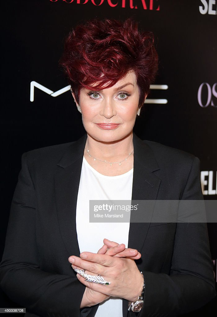 Sharon Osbourne attends a photocall to launch the new Sharon & Kelly Osbourne for MAC collection at Selfridges on June 9, 2014 in London, England.