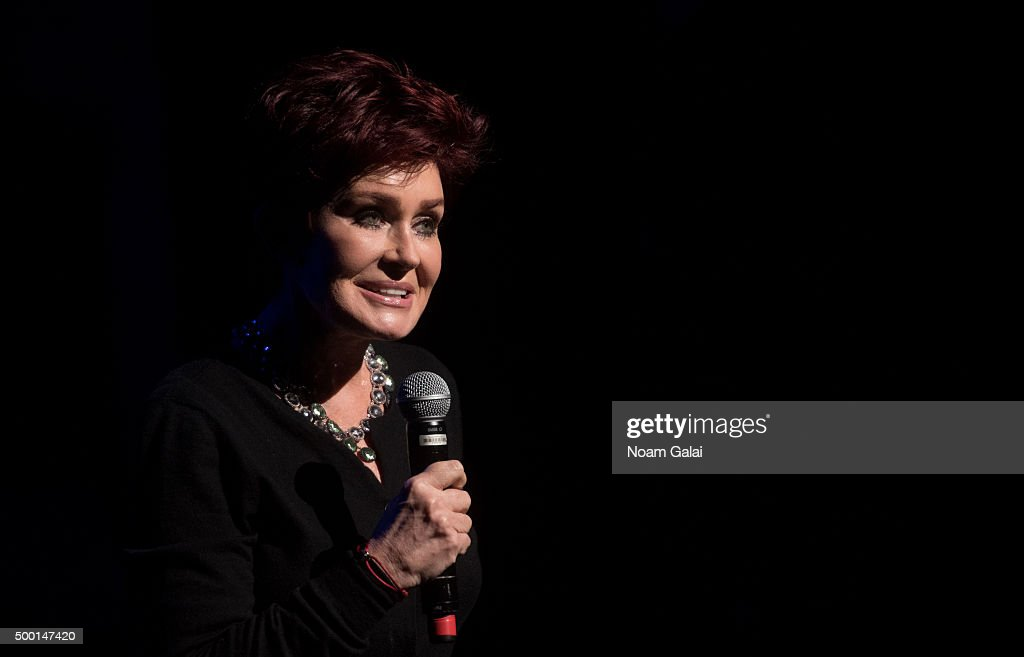 Sharon Osbourne attends the 5th Annual 'Cyndi Lauper and Friends: Home For The Holidays' benefit concert at The Beacon Theatre on December 5, 2015 in New York City.