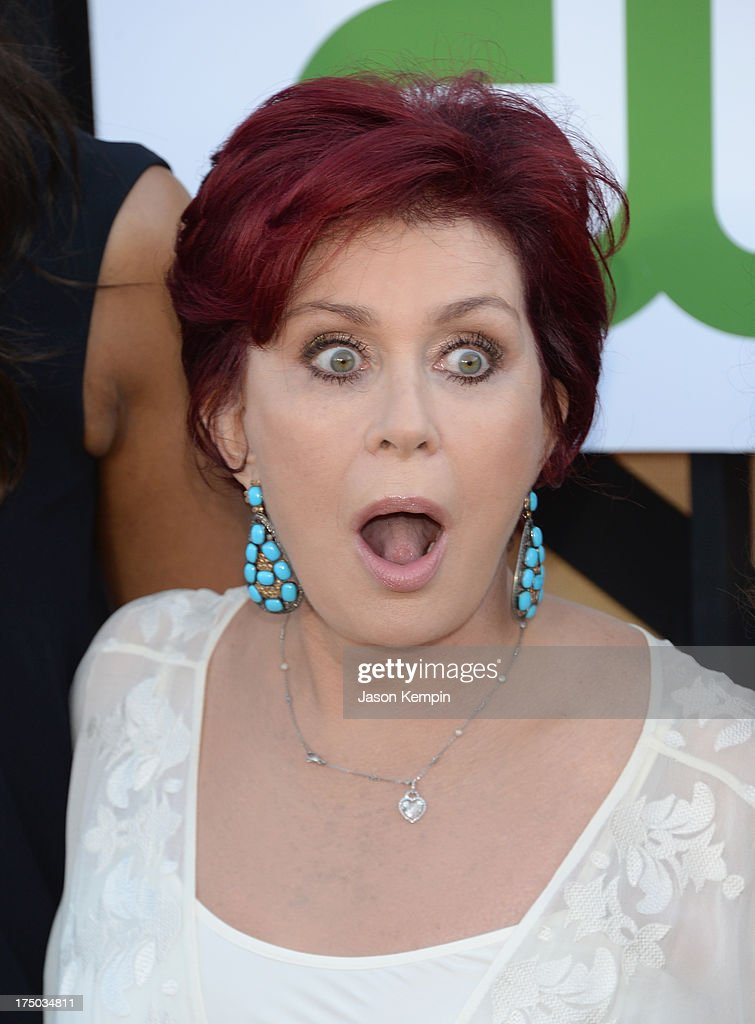 <a gi-track='captionPersonalityLinkClicked' href=/galleries/search?phrase=Sharon+Osbourne&family=editorial&specificpeople=203094 ng-click='$event.stopPropagation()'>Sharon Osbourne</a> attends the CW, CBS And Showtime 2013 Summer TCA Party on July 29, 2013 in Los Angeles, California.