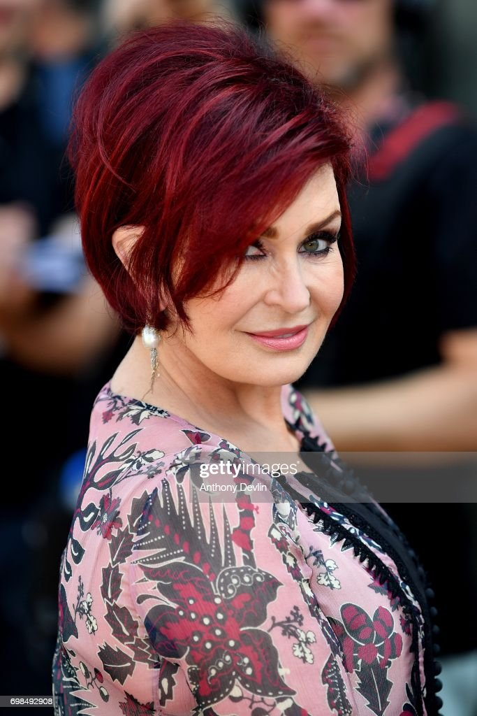 Sharon Osbourne attends the first day of auditions for the X Factor at The Titanic Hotel on June 20, 2017 in Liverpool, England.