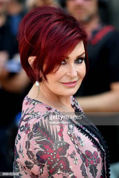 Sharon Osbourne attends the first day of auditions for the X Factor at The Titanic Hotel on June 20 2017 in Liverpool England