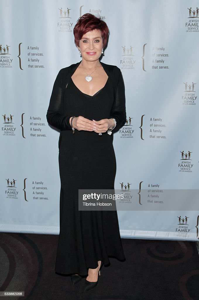 Sharon Osbourne attends the Jewish Family Service of Los Angeles 23rd Annual Gala Dinner at The Beverly Hilton Hotel on May 23, 2016 in Beverly Hills, California.