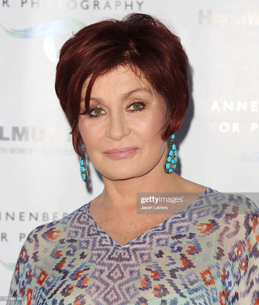 <a gi-track='captionPersonalityLinkClicked' href=/galleries/search?phrase=Sharon+Osbourne&family=editorial&specificpeople=203094 ng-click='$event.stopPropagation()'>Sharon Osbourne</a> attends the opening of 'Helmut Newton: White Women - Sleepless Nights - Big Nudes' at Annenberg Space For Photography on June 27, 2013 in Century City, California.