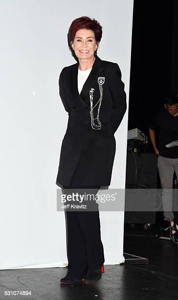 Sharon Osbourne attends the Ozzy Osbourne and Corey Taylor Special Announcement on May 12 2016 in Hollywood California