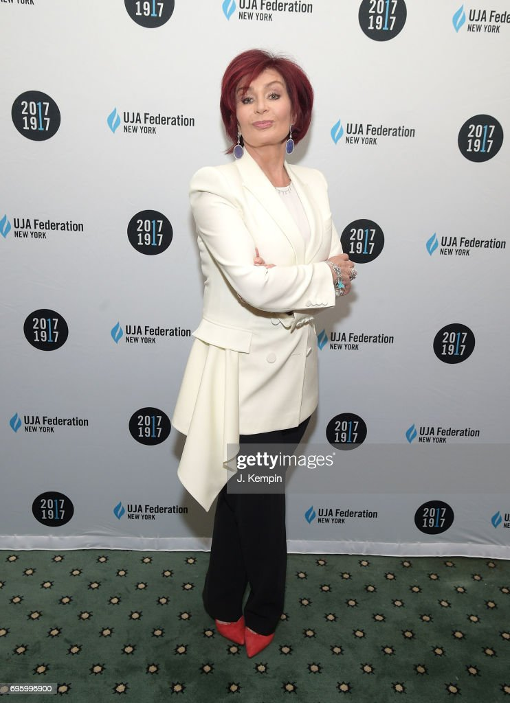 Sharon Osbourne attends the UJA-Federation Of New York's 2017 Music Visionary Of The Year Award Luncheon at The Pierre Hotel on June 14, 2017 in New York City.