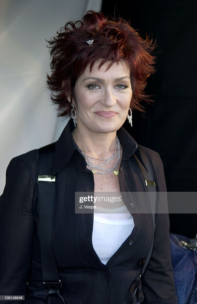 Sharon Osbourne during 2003 MTV Movie Awards - Backstage and Audience at The Shrine Auditorium in Los Angeles, California, United States.