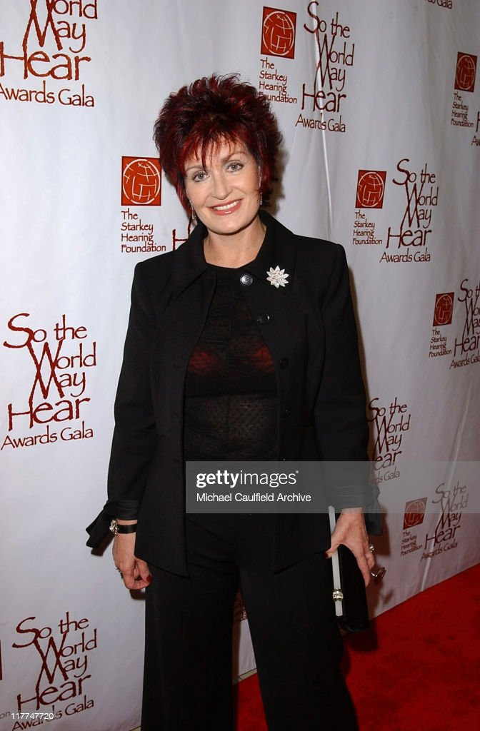Sharon Osbourne during 'So The World May Hear' Awards Gala All Access at Rivercentre in St Paul Minnesota United States