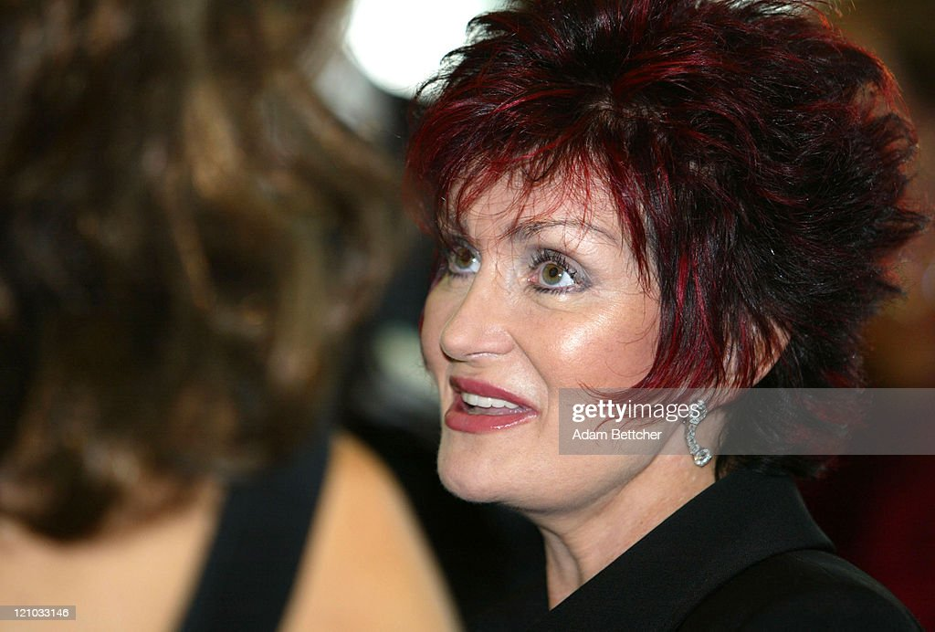 Sharon Osbourne during 'So The World May Hear' Sponsored by the Stakey Hearing Foundation at Rivercentre in St Paul Minnesota United States