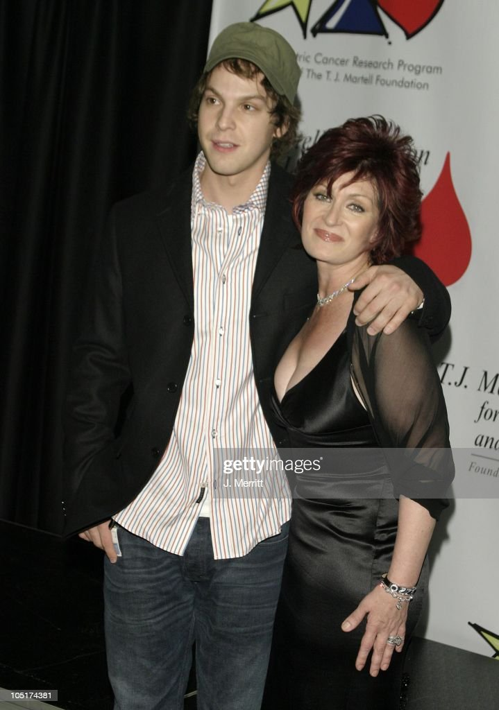 Sharon Osbourne & Gavin DeGraw during The Bogart Tour For A Cure at The Kodak Theatre in Hollywood, CA, United States.