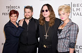 Sharon Osbourne Jack Osbourne Ozzy Osbourne and Kelly Osbourne attend the premiere of 'God Bless Ozzy Osbourne' during the 10th Annual Tribeca Film...