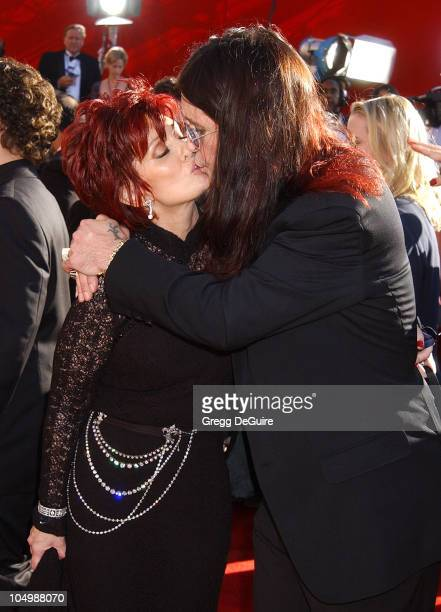 Sharon Osbourne Ozzy Osbourne during The 54th Annual Primetime Emmy Awards Arrivals at The Shrine Auditorium in Los Angeles California United States