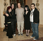 Sharon Osbourne Ozzy Osbourne Jeff Stilson Kelly Osbourne and Jack Osbourne **exclusive**