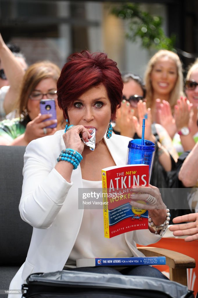 <a gi-track='captionPersonalityLinkClicked' href=/galleries/search?phrase=Sharon+Osbourne&family=editorial&specificpeople=203094 ng-click='$event.stopPropagation()'>Sharon Osbourne</a> visits 'Extra' at The Grove on May 30, 2013 in Los Angeles, California.