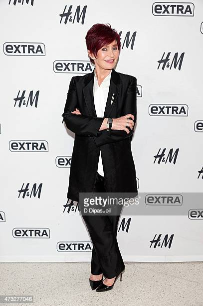 Sharon Osbourne visits 'Extra' at their New York studios at HM in Times Square on May 14 2015 in New York City