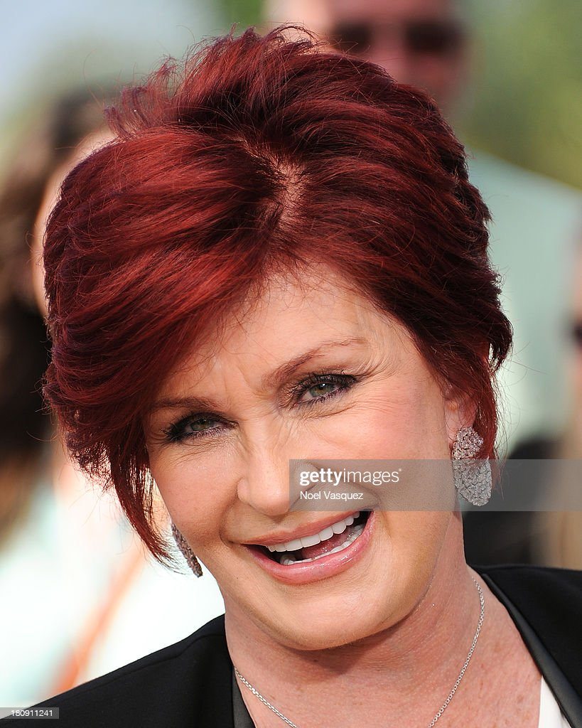 Sharon Osbourne visits 'Extra' at Universal Studios Hollywood on September 17, 2013 in Universal City, California.